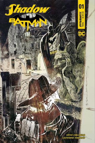 The Shadow / Batman #1 (Sienkiewicz Cover)