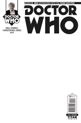 Doctor Who: New Adventures with the Third Doctor #1 (Blank Cover)