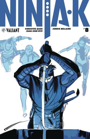 Ninja-K #8 (Zonjic Cover)