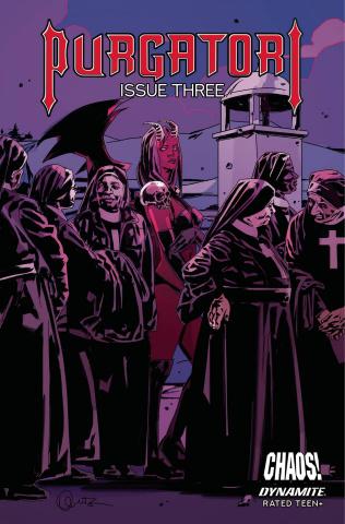 Purgatori #3 (Fuso Cover)