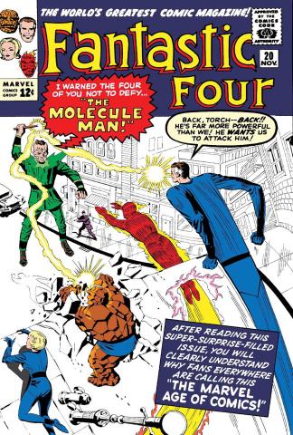Fantastic Four: Molecule Man #1 (True Believers)