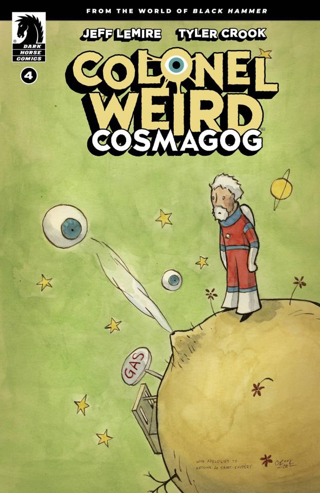 Colonel Weird: Cosmagog #4 (Crook Cover)