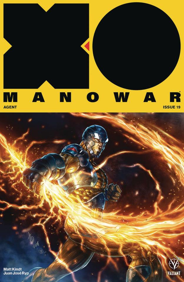 X-O Manowar #19 (Quah Cover)