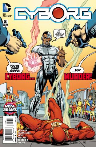 Cyborg #8 (Neal Adams Cover)