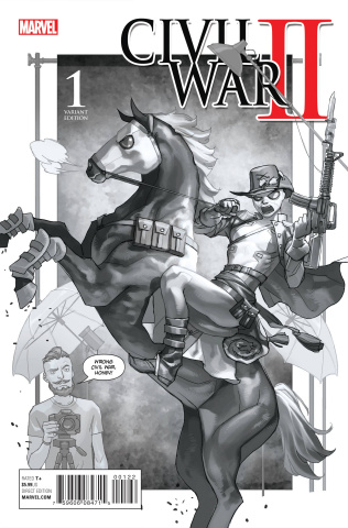 Civil War II #1 (Premium Cover)