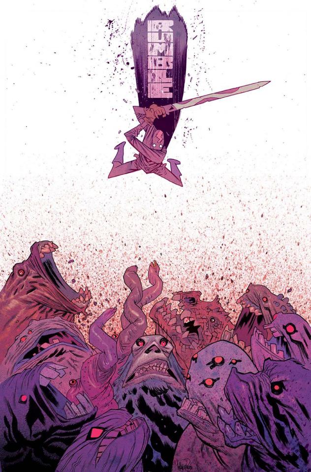 Rumble #15 (Harren Cover)