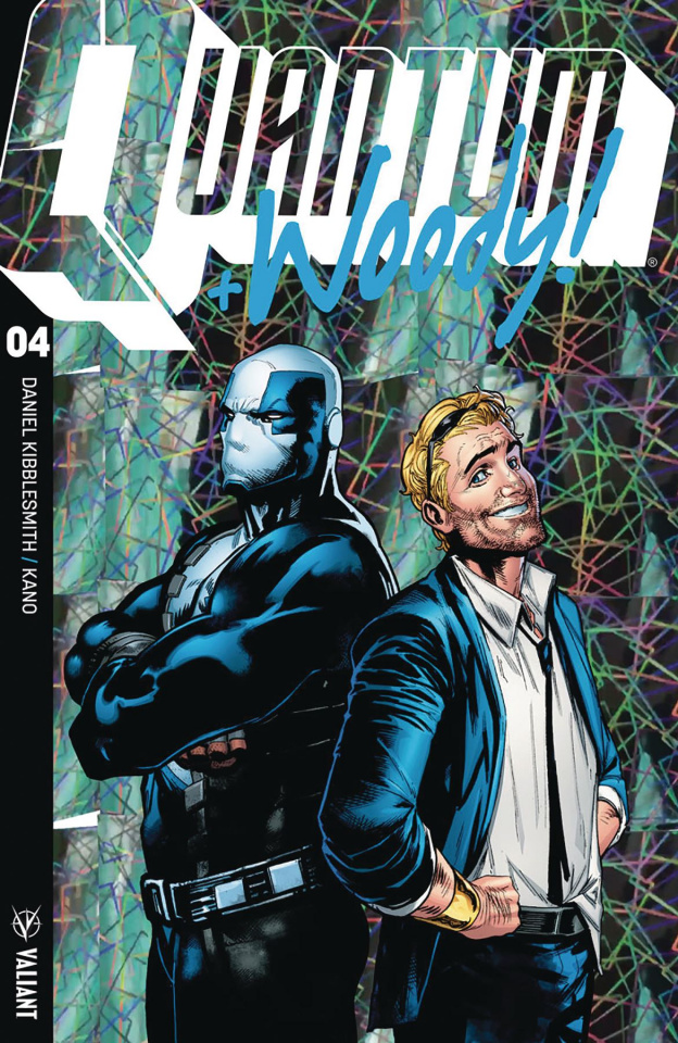 Quantum & Woody #4 (Ultra Foil Shaw Cover)