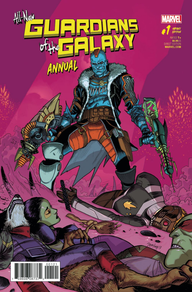 All-New Guardians of the Galaxy Annual #1 (Mora Cover)