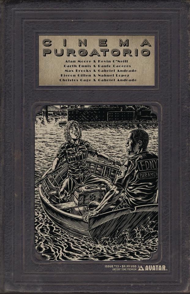 Cinema Purgatorio #13 (Ancient Tome Premium Cover)