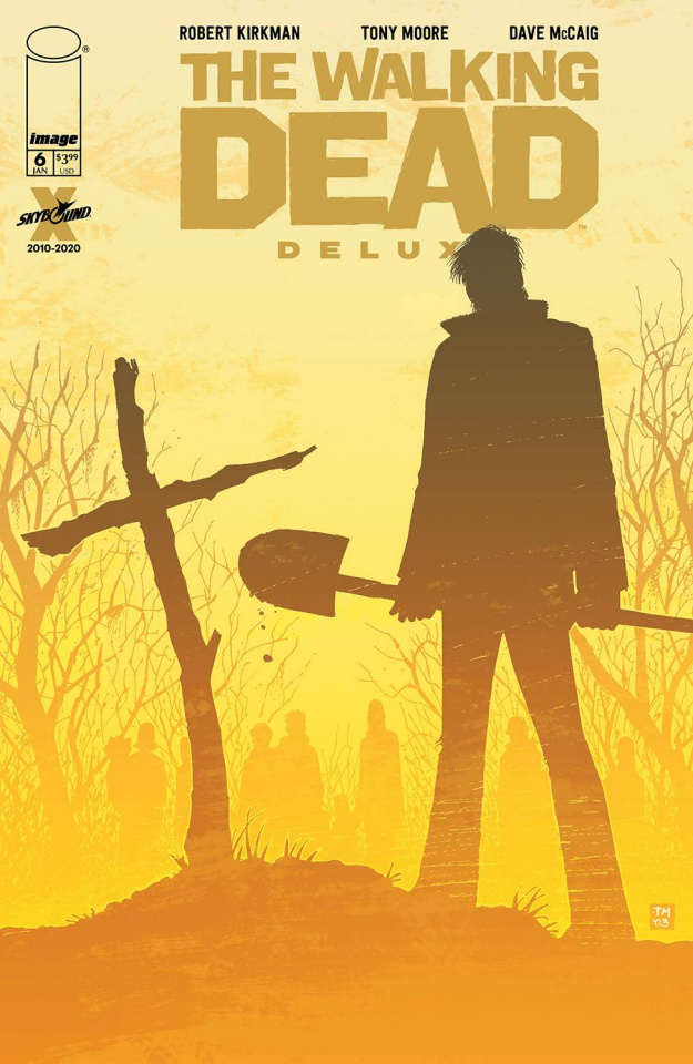 The Walking Dead Deluxe #6 (Moore & McCaig Cover)
