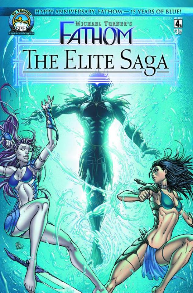 Fathom: The Elite Saga #4 (Marion Cover)