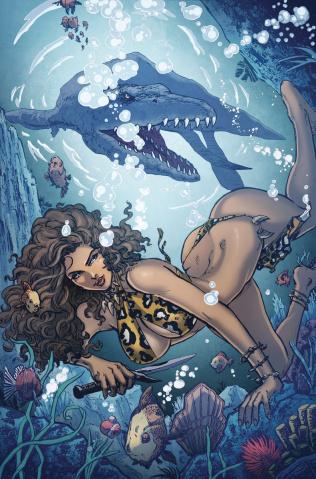 Cavewoman: Riptide (Mario Gully Cover)