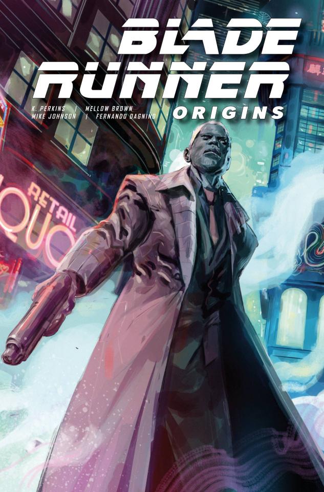 Blade Runner: Origins #7 (Hervas Cover)
