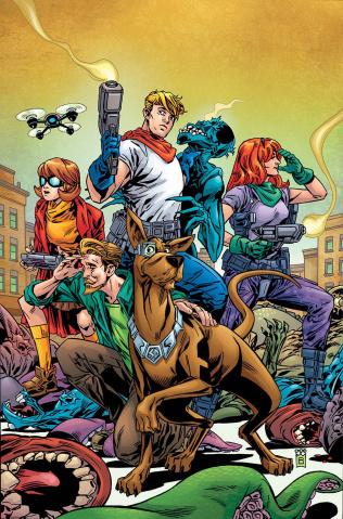 Scooby: Apocalypse #18 (Variant Cover)