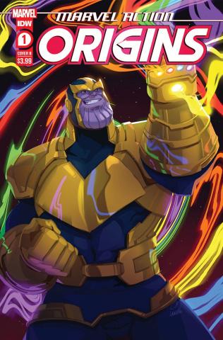 Marvel Action: Origins #1 (Lanna Souvanny Cover)