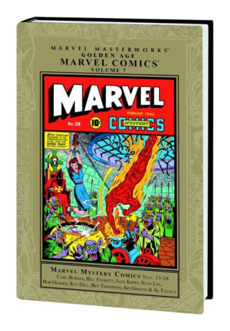 Golden Age Marvel Comics Vol. 7 (Marvel Masterworks)
