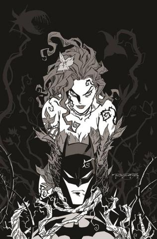 Batman: Black & White #3 (Khary Randolph Poison Ivy Cover)