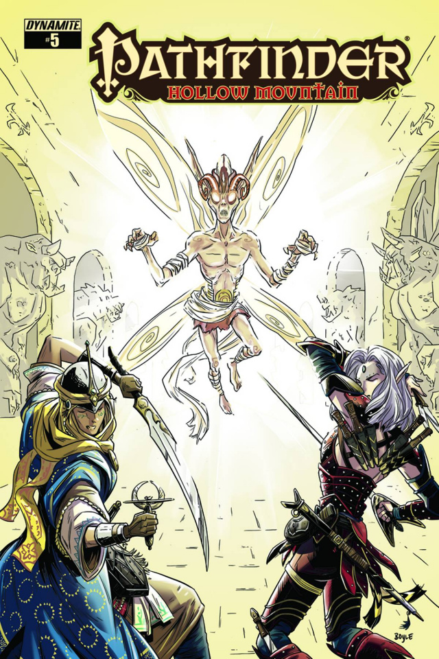 Pathfinder: Hollow Mountain #5 (Boyle Cover)