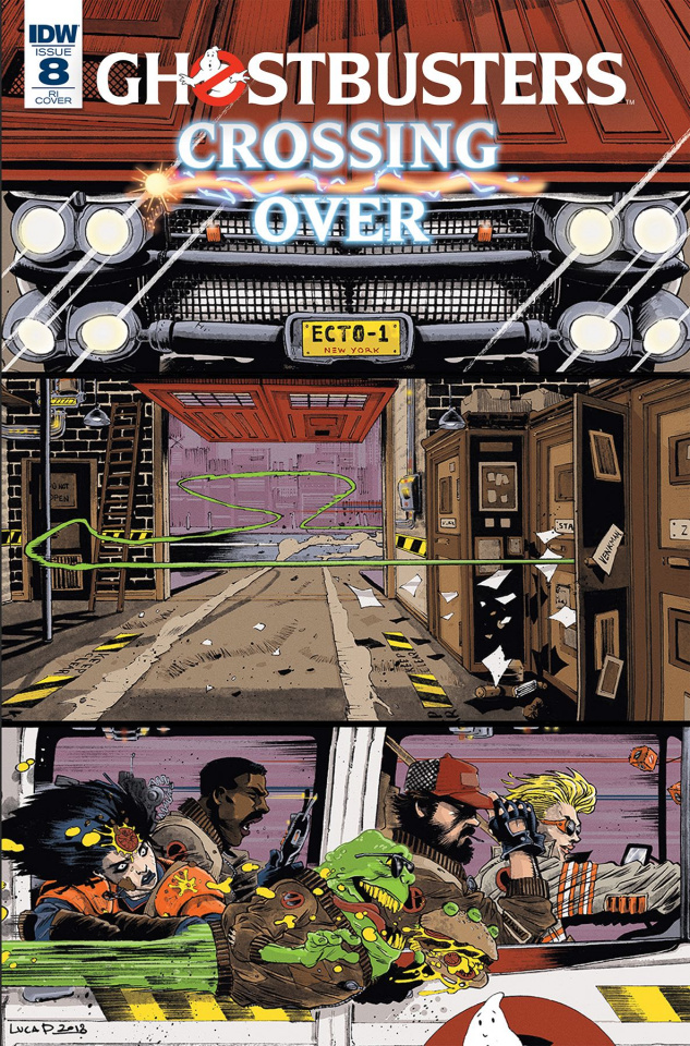 Ghostbusters: Crossing Over #8 (10 Copy Pizzari Cover)