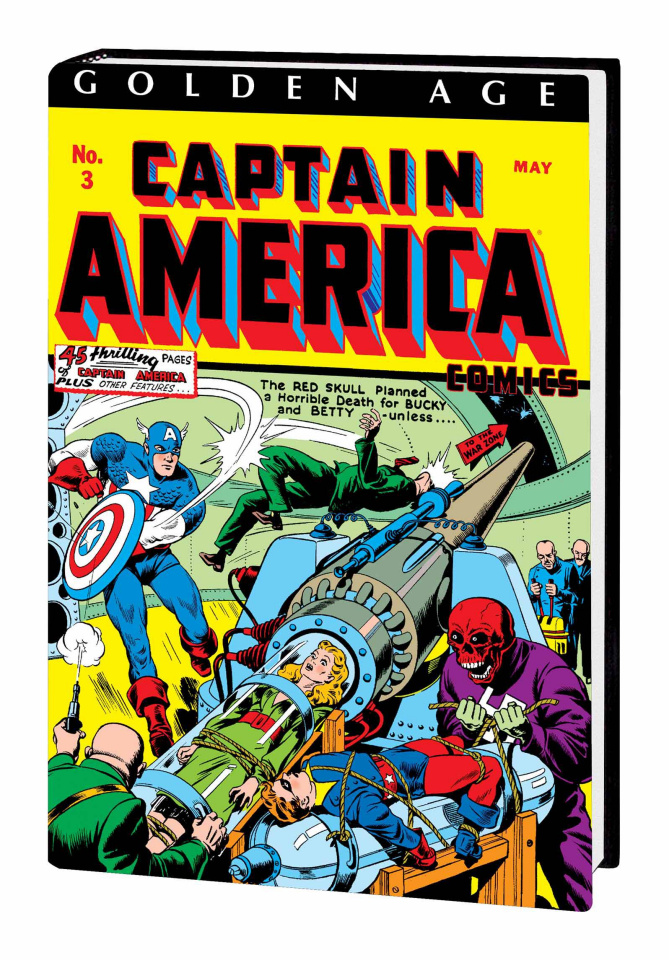 Golden Age Captain America Vol. 1