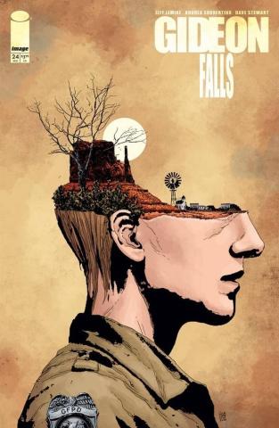 Gideon Falls #24 (Sorrentino & Stewart Cover)
