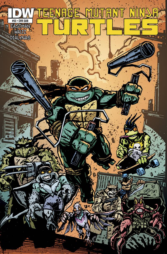 Teenage Mutant Ninja Turtles #53 (Subscription Cover)