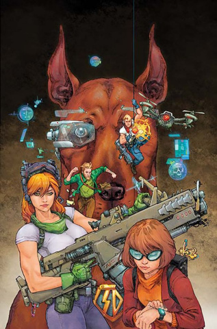 Scooby: Apocalypse #11 (Variant Cover)