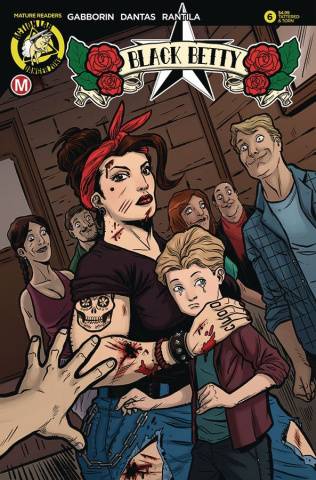 Black Betty #6 (Dantas Tattered & Torn Cover)