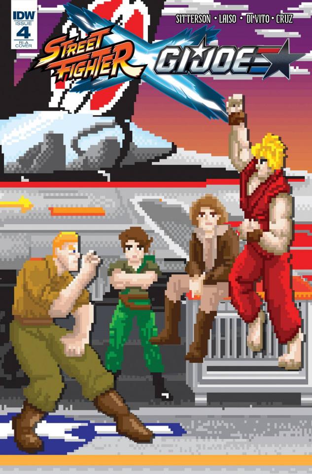 Street Fighter X G.I. Joe #4 (10 Copy Cover)