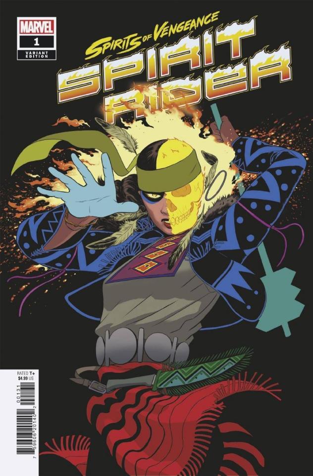 Spirits of Vengeance: Spirit Rider #1 (Rodriguez Cover)