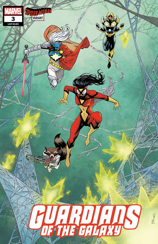 Guardians of the Galaxy #3 (Shalvey Spider-Woman Cover)