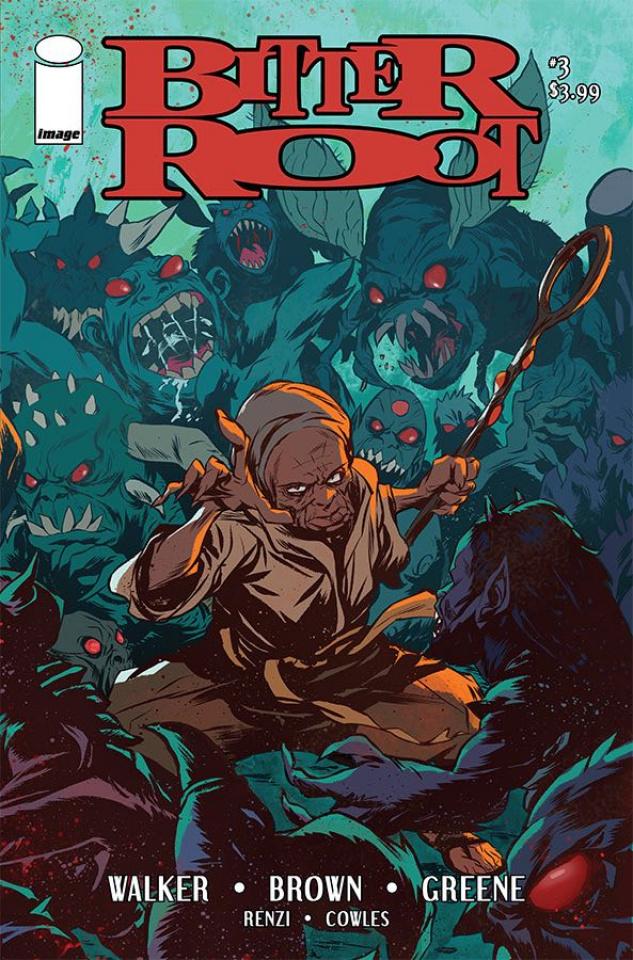 Bitter Root #3 (Greene Cover)