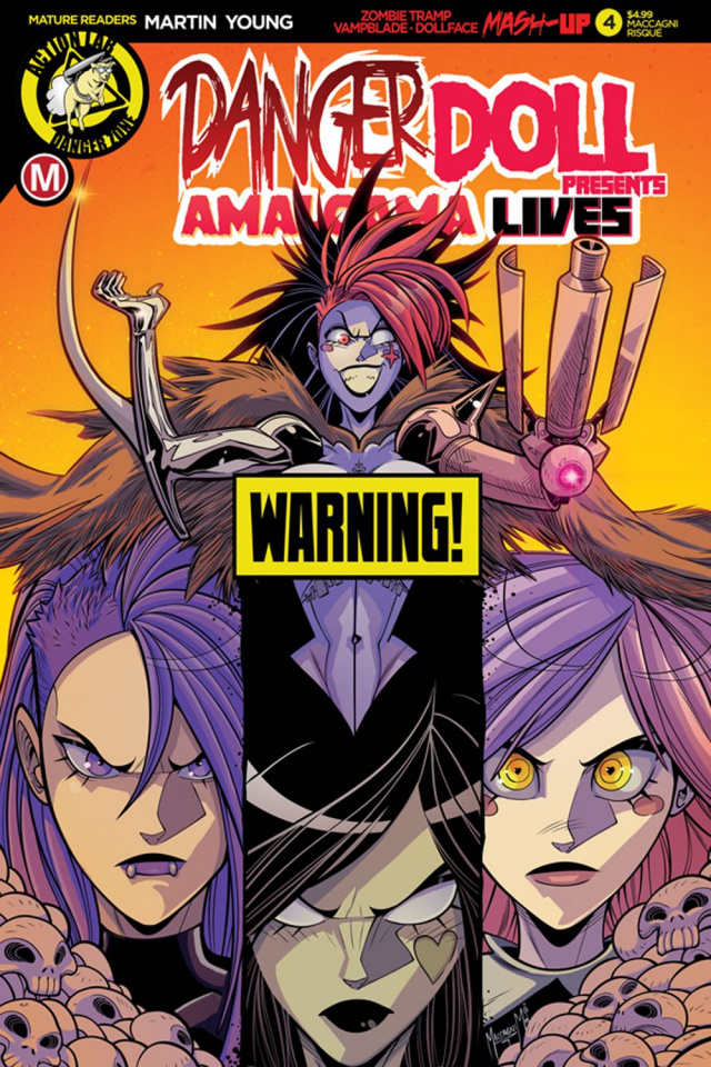 Danger Doll Squad Presents: Amalgama Lives #4 (Maccagni Cover)