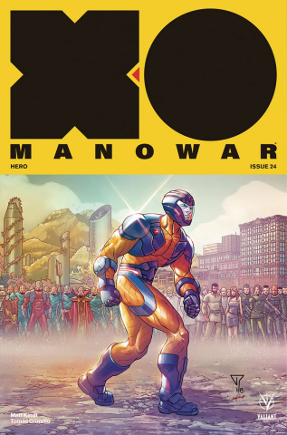 X-O Manowar #24 (20 Copy Portela Interlocking Cover)