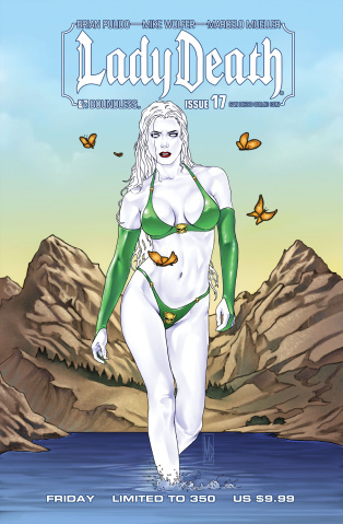 Lady Death #17 (SCDD Friday Cover)