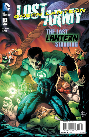 Green Lantern: The Lost Army #3