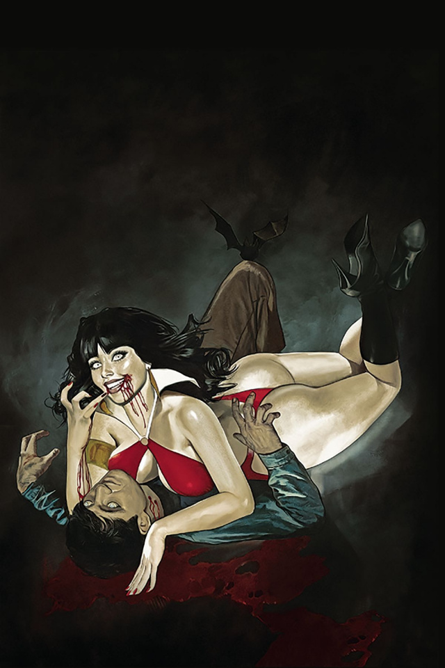 Vampirella #6 (Dalton Virgin Cover)