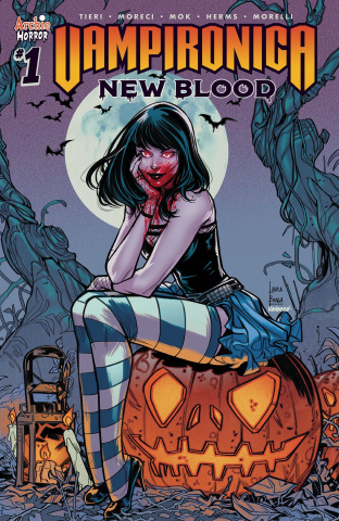 Vampironica: New Blood #1 (Braga Cover)