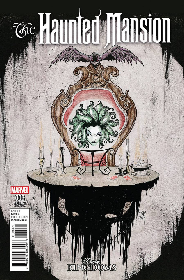 The Haunted Mansion #3 (Crosby Cover)