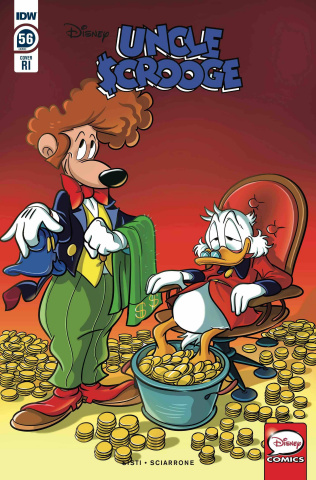 Uncle Scrooge #56 (10 Copy Mazzarello Cover)