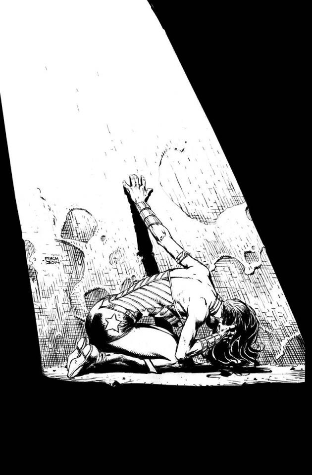 Wonder Woman #39 (Black & White Cover)