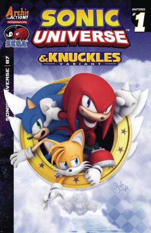 Sonic Universe #87 (Rafa Knight Cover)