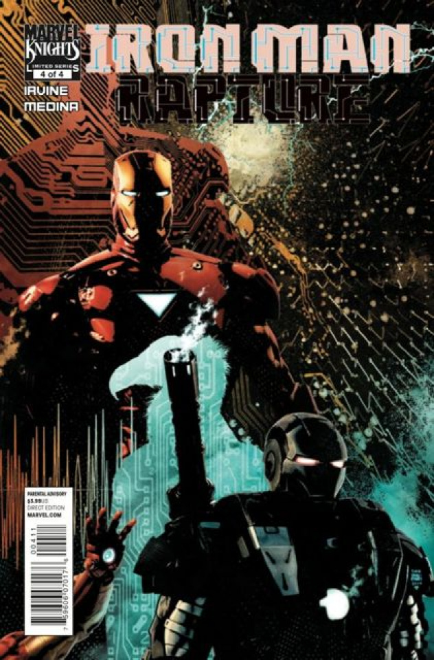 Iron Man: The Rapture #4