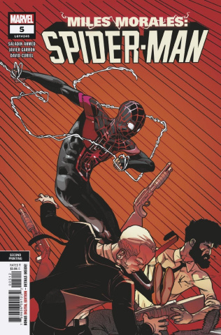 Miles Morales: Spider-Man #5 (Garron 2nd Printing)