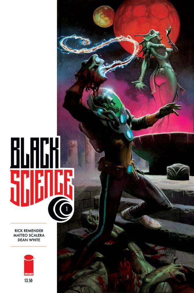 Black Science #1 (Scalera & White Cover)