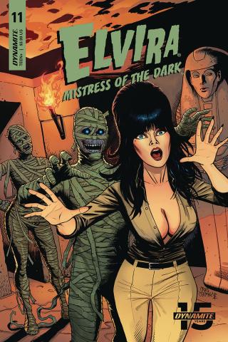 Elvira: Mistress of the Dark #11 (Cermak Cover)