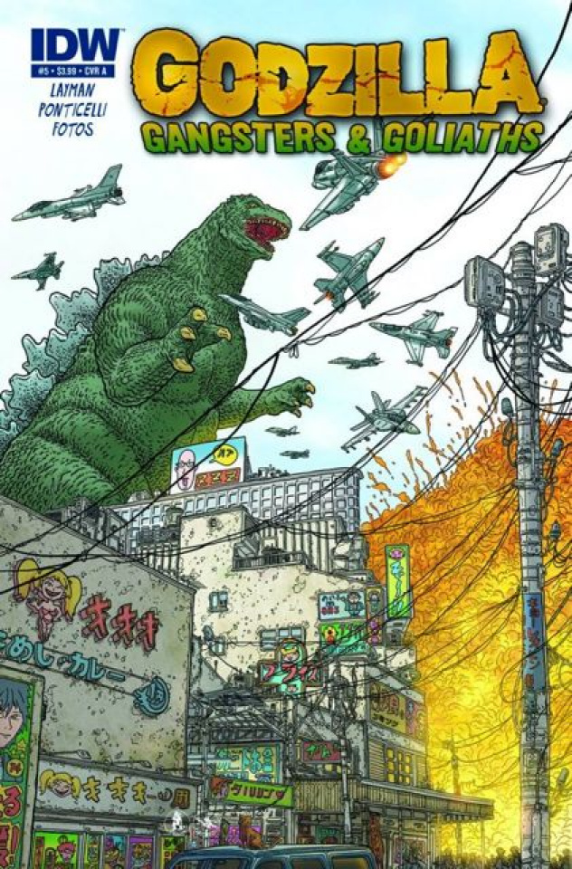 Godzilla: Gangsters & Goliaths #5