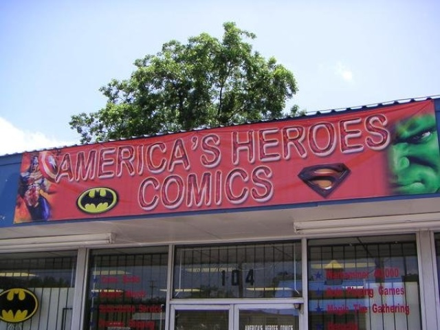 America's Heroes Comics and Games