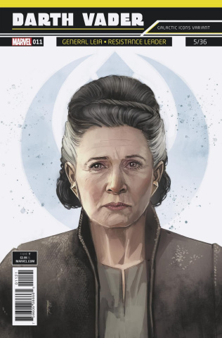 Star Wars: Darth Vader #11 (Reis Galactic Icon Leia Cover)