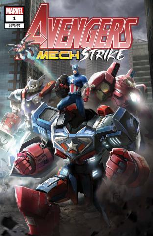 Avengers: Mech Strike #1 (SNG Cover)